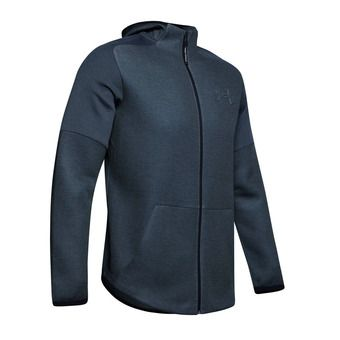Under Armour UNSTOPPABLE MOVE LIGHT - Felpa Uomo wire full heather