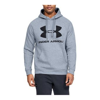 Under Armour RIVAL FLEECE SPORTSTYLE LOGO - Sweat Homme steel light heather