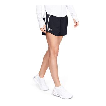 Under Armour FLY BY EXPOSED - Short Donna black