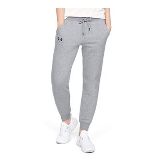 Under Armour RIVAL FLEECE SPORTSTYLE GRAPHIC - Jogging Femme steel medium heather