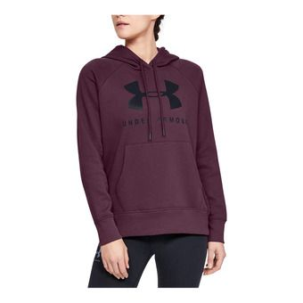 Under Armour RIVAL FLEECE SPORTSTYLE GRAPHIC - Sweat Femme level purple