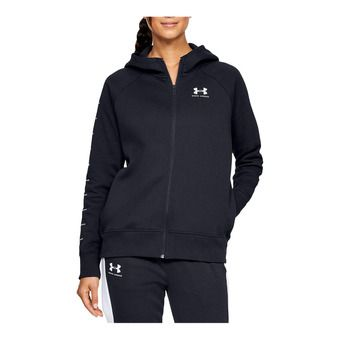 Under Armour RIVAL FLEECE SPORTSTYLE LC GRAPHI - Sweat Femme black