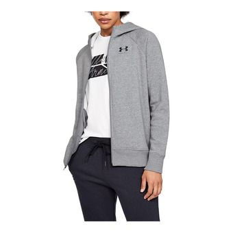 Under Armour RIVAL FLEECE SPORTSTYLE LC GRAPHI - Sweat Femme steel medium heather