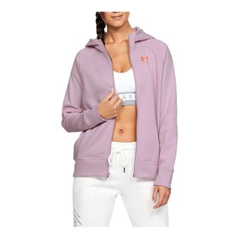 RIVAL FLEECE SPORTSTYLE LC SLEEVE GRAPHI Femme Pink Fog1348559-694