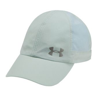 Under Armour FLY BY - Gorra mujer atlas green