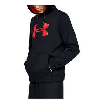 Under Armour AF PO BIG LOGO GRAPHIC - Sweat Homme black/red