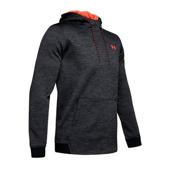 Under Armour ARMOUR FLEECE TWIST PO - Sweat Homme black