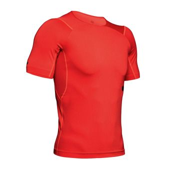 Under Armour HG RUSH - Maillot Homme martian red