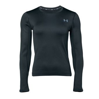 Under Armour QUALIFIER COLDGEAR - Maglia Donna black