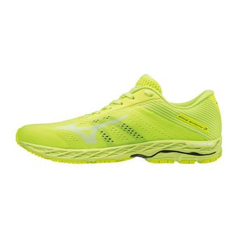 Mizuno WAVE SHADOW 3 - Scarpe running Uomo syellow/wht/safetyyellow