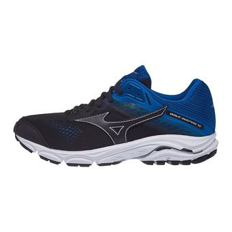 Mizuno WAVE INSPIRE 15 - Chaussures running Homme bgraphite/bgraphite/sblu