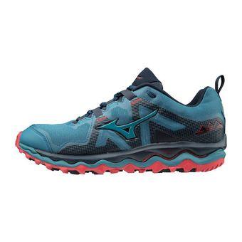 Mizuno WAVE MUJIN 6 - Chaussures trail Homme bsapphire/eblue/tomato