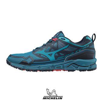 Mizuno WAVE DAICHI 4 - Chaussures trail Homme bsapphire/enamelblue/tom
