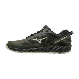 Mizuno WAVE IBUKI 2 - Chaussures trail Homme fnight/scloud/black