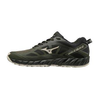 Mizuno WAVE IBUKI 2 - Zapatillas de trail hombre fnight/scloud/black