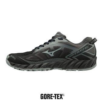 Mizuno WAVE IBUKI 2 GTX - Chaussures trail Femme blk/monument/dshadow