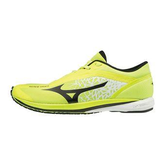 Mizuno WAVE DUEL - Zapatillas de running hombre safety yellow / black
