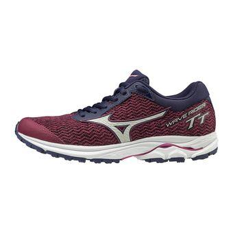 Mizuno WAVE RIDER TT - Zapatillas de running mujer ppotion/vaporblue/aaura