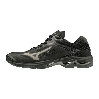 Mizuno WAVE LIGHTNING Z5 - Chaussures volleyball blk/metshadow/darkshadow