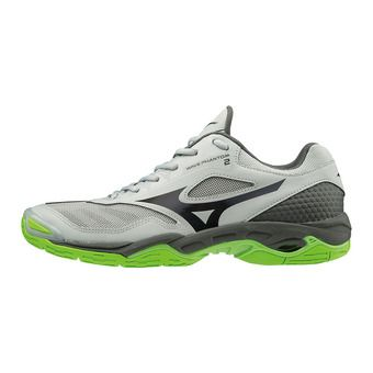 Mizuno WAVE PHANTOM 2 - Chaussures handball Homme highrise/blk/jasmineg
