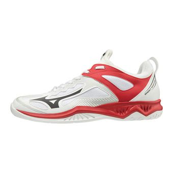 Mizuno GHOST SHADOW - Zapatillas de balonmano wht/blk/red186c