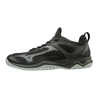 Mizuno GHOST SHADOW - Chaussures handball blk/steelgray/high rise