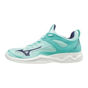 Mizuno GHOST SHADOW - Chaussures handball Femme bluelight/aaura/bturquoi