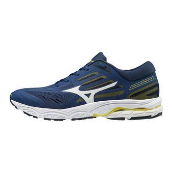 Mizuno WAVE STREAM 2 - Chaussures running Homme eblue/wht/dressblues