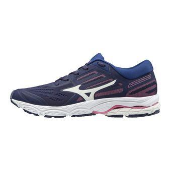 Mizuno WAVE STREAM 2 - Chaussures running Femme aaura/wht/blueprint