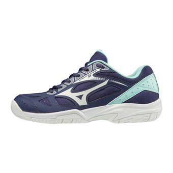 Mizuno CYCLONE SPEED 2 - Chaussures volleyball Femme astralaura/wht/bluelight