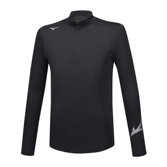 Mizuno VIRTUAL BODY G2 H/Z - Camiseta térmica hombre black/black