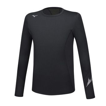 Mizuno VIRTUAL BODY G2 CREW - Sous-couche Homme black/black