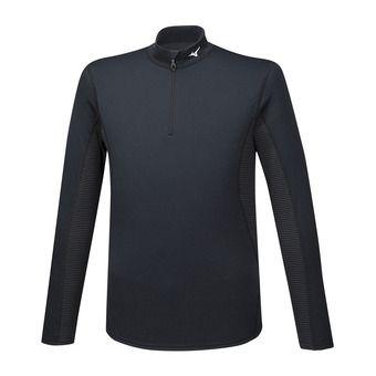 Mizuno MID WEIGHT H/Z - Camiseta térmica hombre black