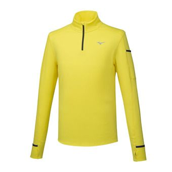 Mizuno WARMALITE HZ - Camiseta térmica hombre blazing yellow