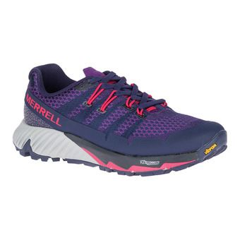Merrell AGILITY PEAK FLEX 3 - Trail Shoes - Women's - acai