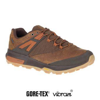 Merrell ZION GTX - Chaussures randonnée Homme toffee