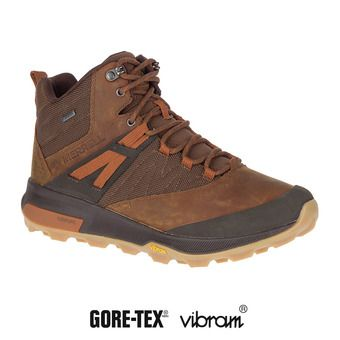 Merrell ZION MID GTX - Chaussures randonnée Homme toffee