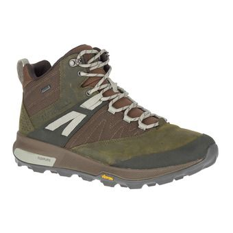 Merrell ZION MID GTX - Hiking Shoes - Men's - dark olive