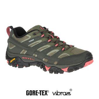 Merrell MOAB 2 GTX - Zapatillas de senderismo mujer  beluga olive