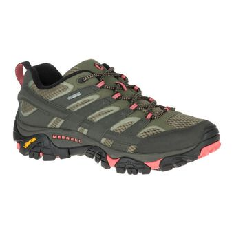 Merrell MOAB 2 GTX - Hiking Shoes - Women's - beluga olive