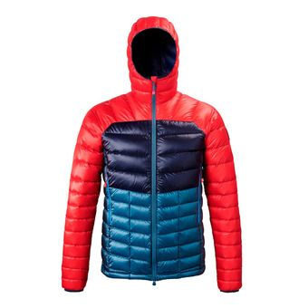 Millet TRILOGY DIAMOND DOWN HOODIE - Down Jacket - Men's - indian/red
