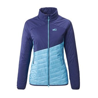 Millet ELEVATION AIRLOFT - Hybrid Jacket - Women's - light blue/blue depths