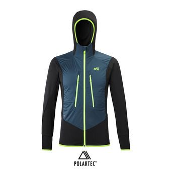 Millet EXTREME RUTOR ALPHA COMPO HOODIE - Chaqueta hombre orion blue/black