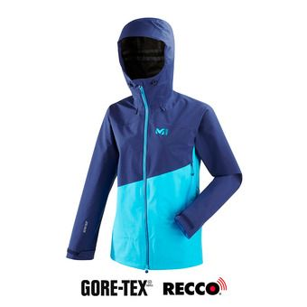 Millet ELEVATION S GTX - Veste Femme light blue/blue depths