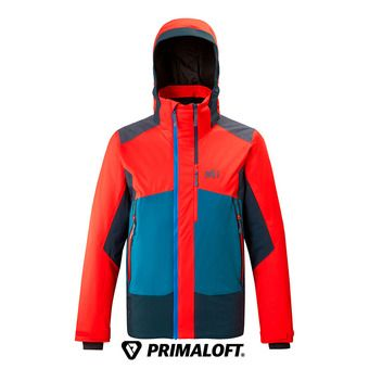 Millet 7/24 STRETCH - Veste ski Homme fire/orion blue