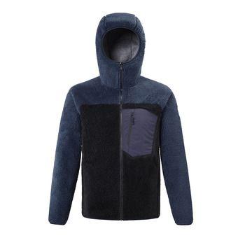Millet 8 SEVEN WINDSHEEP HOODIE - Fleece - Men's - black/sapphire
