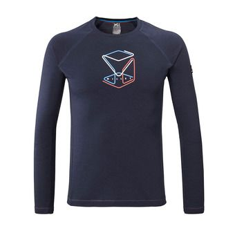 Millet TRILOGY WOOL CUBE - Camiseta hombre saphir