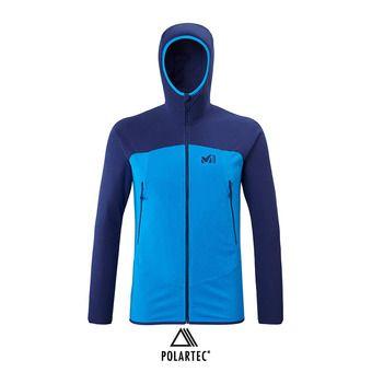 Millet K LIGHTGRID HOODIE - Polaire Homme electric blue/blue depths