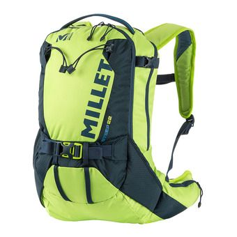 Millet STEEP 22L - Sac à dos acid green/orion blue