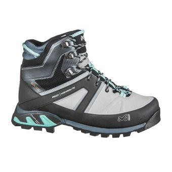 Millet HIGHROUTE GTX - Hiking Shoes - Women's - high rise/aruba blue